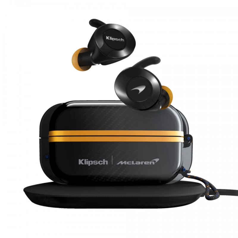 Tai nghe True Wireless Klipsch T5 II Sport McLaren Edition