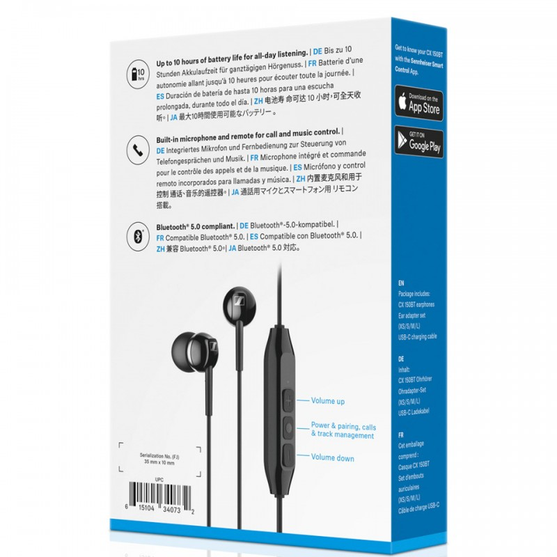 Tai nghe Bluetooth Sennheiser CX 150BT 4