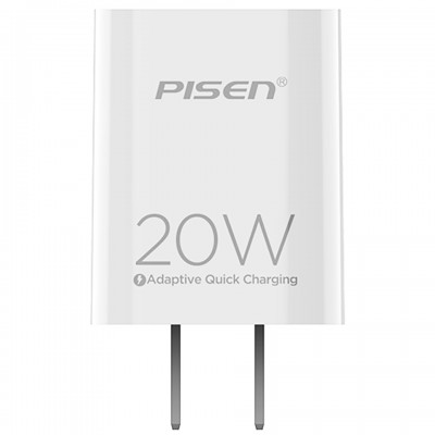 Adapter sạc USB-C PD 20W Pisen Quick TS-C135