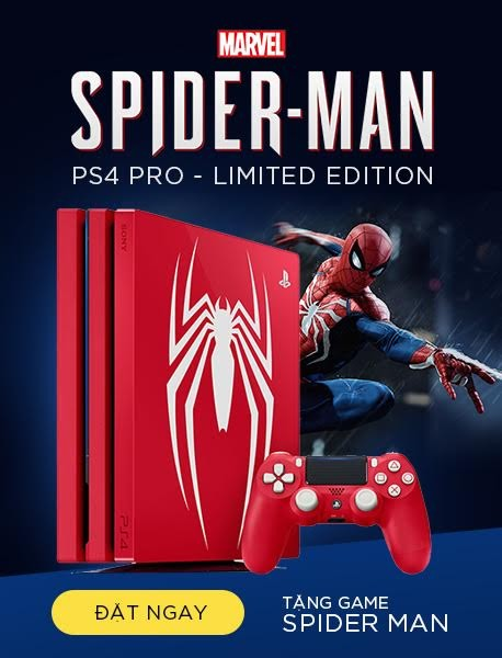 SONY PLAYSTATION 4 PRO: MAVEL SPIDERMAN - LIMITED